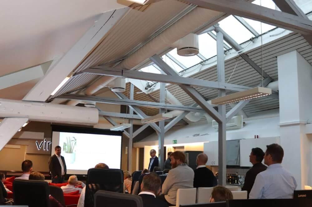 Presentation in Vince office Oslo