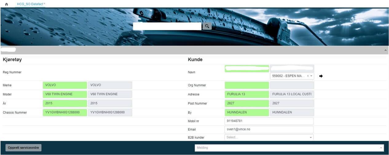 Hurtigruten carglass software